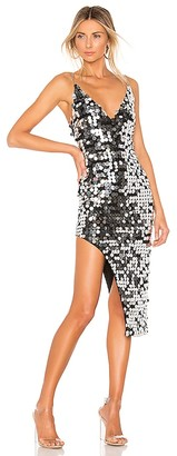 h:ours Bella Midi Dress
