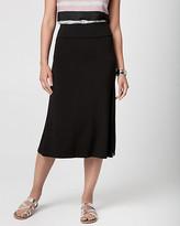 Le Château Jersey A-Line Skirt