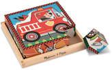 Melissa & Doug Vehicles Cube Puzzle - 16 Pieces