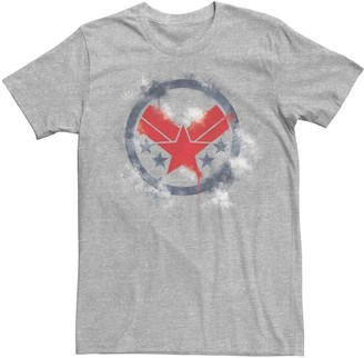 "Licensed Character Men's Marvel ""Avengers: Endgame"" War Machine Spray Logo Tee"
