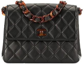 Chanel Pre Owned 1997-1999 CC Logos Plastic Chain Shoulder Bag