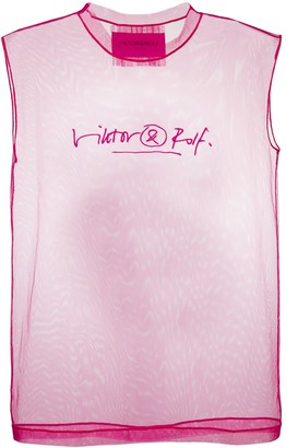 Viktor & Rolf Signed logo tank top