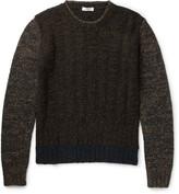 Boglioli - Mélange Wool-blend Sweater