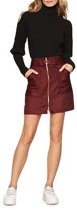 Milly Cotton-Blend A-Line Skirt