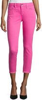 STYLUS Stylus Roll-Cuff Skinny Ankle Jeans