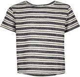 River Island Girls cream stripe t-shirt