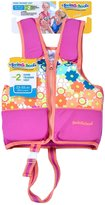 Aqua Leisure Girls Printed Swim Vest with safety strap - L