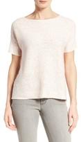 Eileen Fisher Women's Organic Linen & Cotton Boxy Sweater
