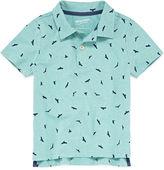 Arizona Short Sleeve Animal Jersey Polo Shirt - Toddler