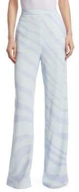 Roberto Cavalli Zebra Wide Leg Pants
