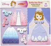 Melissa & Doug Sofia the First Wooden Dress-Up Chunky Puzzle