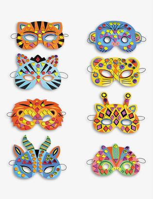 Djeco Jungle animal mask set of 6