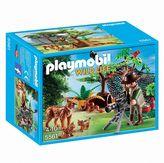 Playmobil Lynx Family with Cameraman Playset - 5561