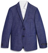 Michael Kors Boys' Chambray Sports Coat - Big Kid