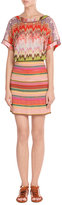 Missoni Striped Skirt with Wool