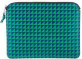 Proenza Schouler Leather Triangle Print Ipad Case