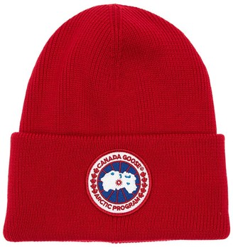 Canada Goose Arctic Disc Toque Wool Knit Beanie Hat