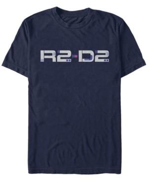 Star Wars Men's Episode Ix Rise of Skywalker R2-D2 Droid Text T-shirt