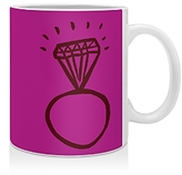 DENY Designs Leah Flores Diamond Bling Mug