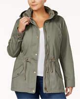 Style&Co. Style & Co Plus Size Twill Utility Jacket, Created for Macy's