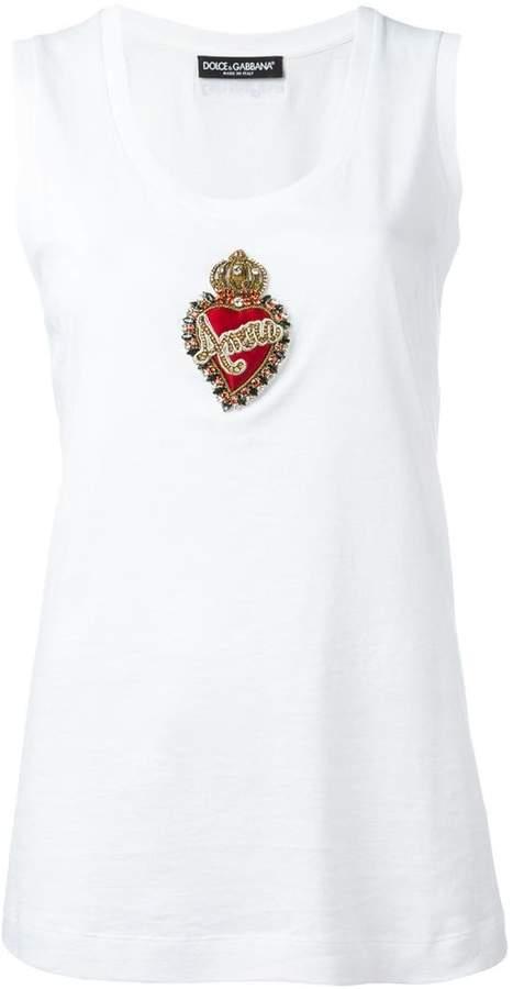 Dolce & Gabbana crown logo vest