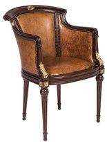 Maitland-Smith Leather Armchair