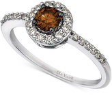 LeVian Le Vian Chocolatier® Diamond Ring (1/2 ct. t.w.) in 14k White Gold