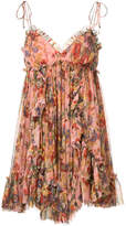 Zimmermann floral print flared dress