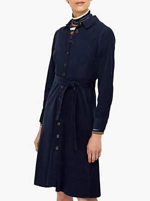 Monsoon Coralie Midi Dress, Navy