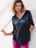 Victoria's Secret Victorias Secret V-neck Hooded Tunic
