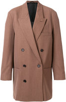 Lemaire boxy double-breasted coat