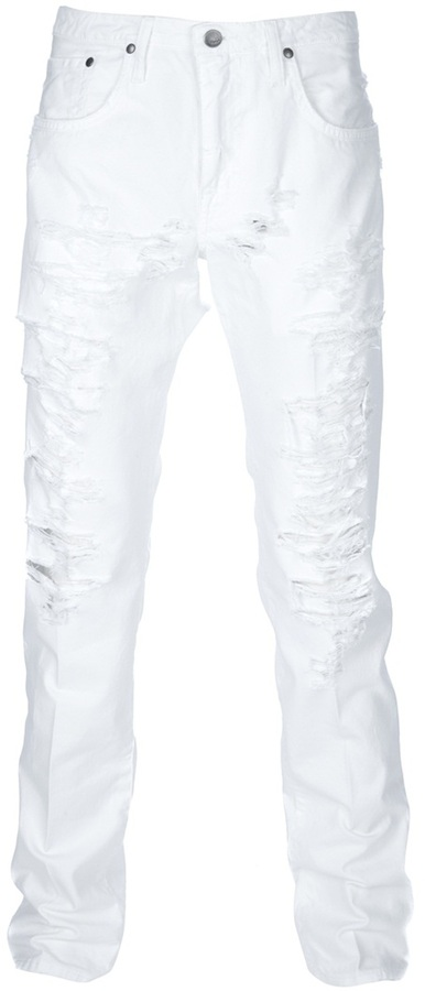 (+) People People Distressed Jeans