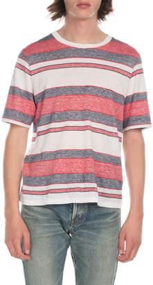Saint Laurent Men's Stripe T-Shirt