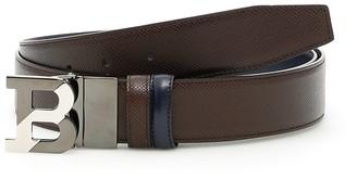 Bally B Logo Leather Belt