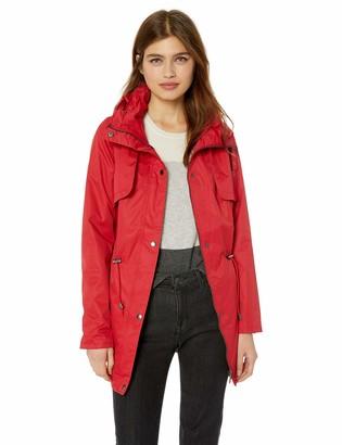 Yoki Women's Anorak Rain Jacket Outerwear