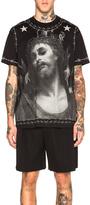 Givenchy Jesus Print Tee