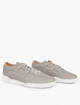 Reebok Grey Workout Lo Clean Sneakers