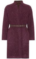 Loro Piana Morgan reversible wool-blend coat