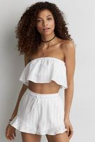American Eagle Outfitters AE Ruffle Tube Top