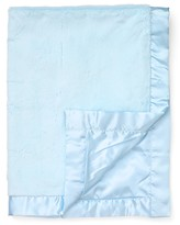 "Little Me Infant Boys' Blue Plush Blanket - 30"" x 40"""