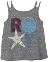Roxy Girls' Shells Heritage Heather Tank Top.