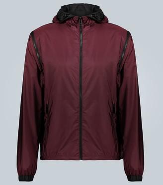 Prada Exclusive to Mytheresa technical jacket with zip-off sleeves