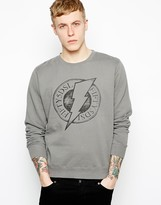 55dsl Lightning Bolt Sweatshirt