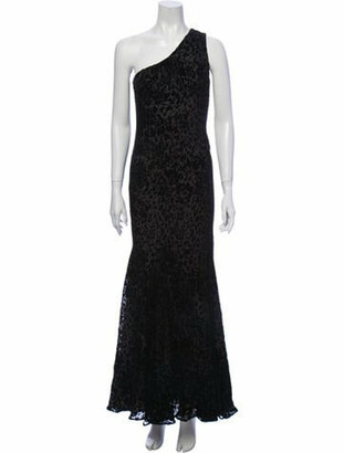 Oscar de la Renta 2011 Long Dress Black