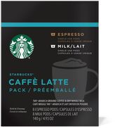 Starbucks VerismoTM 16-Count Caffe Latte Pods