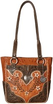 American West Desert Wildflower Tote Tote Handbags