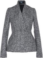Paule Ka Tweed Peplum Jacket
