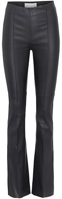 REMAIN Birger Christensen Leather Bootcut Pants