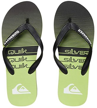 Quiksilver Molokai Print (Black/Grey/Black 4) Men's Sandals
