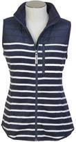 Nautica Nautex Quilted Striped Fleece Vest